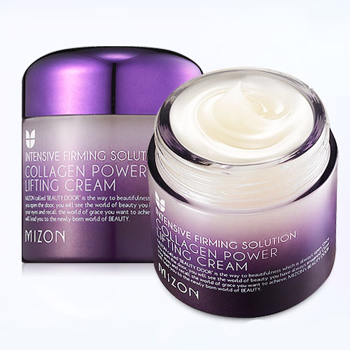Коллагеновый крем-гель Mizon Collagen Power Lifting Cream mizon collagen power lifting emulsion 120ml face skin care whitening moisturizing anti wrinkle facial cream korean cosmetics