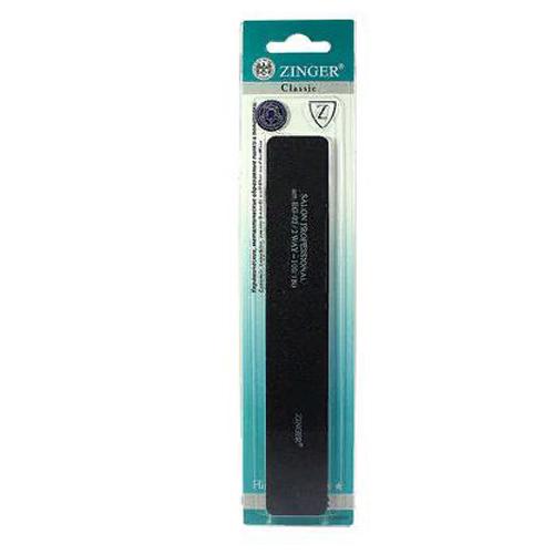 Пилка для искусственных ногтей Zinger Пилка для искусственных ногтей EG-02 kinetics пилка полировщик для натуральных и искусственных ногтей dolphin dan