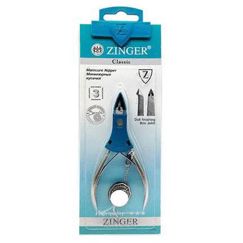 Кусачки маникюрные для кожи Zinger Кусачки маникюрные для кожи MC 351 D/FD SH zinger кусачки маникюрные ручная заточка zo mc 351 s sh
