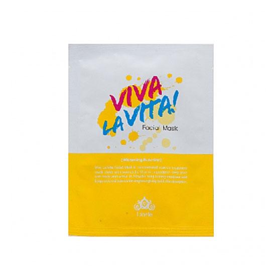 тканевая маска Lioele Viva La Vita Facial Mask
