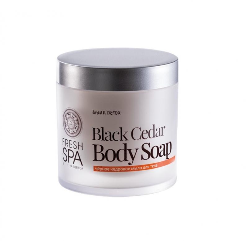 Мыло для тела черное кедровое Natura Siberica Bania Detox мыло для тела черное кедровое