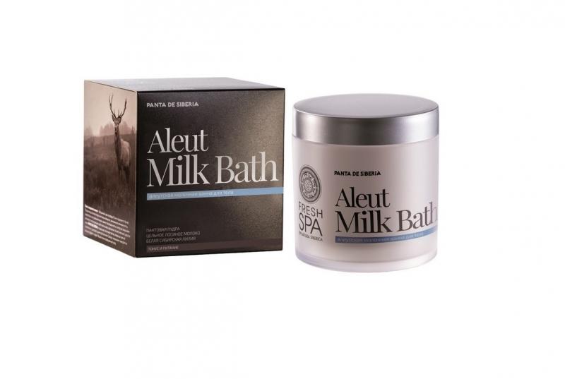 Молочная ванна для тела повышение эластичности и упругости кожи Natura Siberica Panta De Siberia ванна молочная для тела