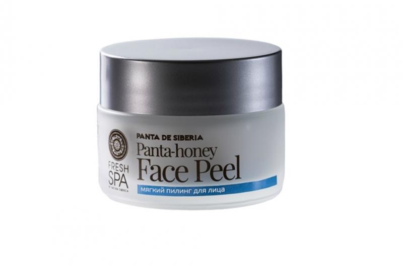 Мягкий пилинг для чистой и здоровой кожи Natura Siberica Panta De Siberia пилинг для лица мягкий