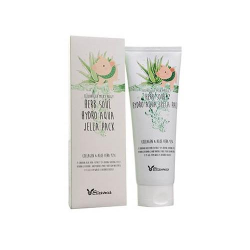 Увлажняющая маска для лица Elizavecca Herb Soul Hydro Aqua Jella Pack маска elizavecca 3 step aqua white water mask pack