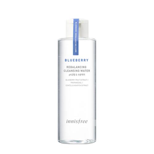 Innisfree Blueberry Rebalancing Cleansing Water innisfree innisfree лотос carbon black mask [честь] 22ml увлажняющий питательный сна radiance уход за кожей