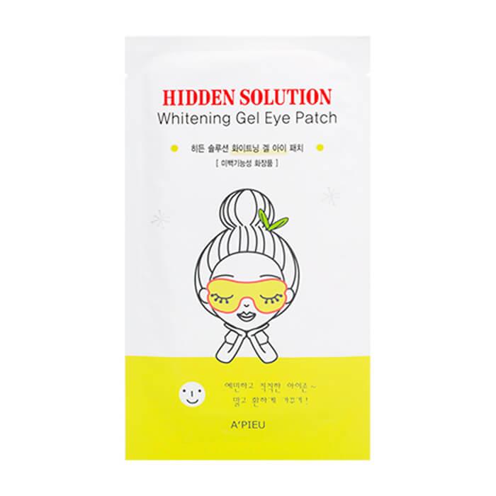 Гелевые патчи для глаз с ягодными экстрактами APieu Hidden Solution Whitening Gel Eye Patch