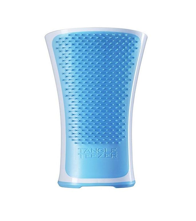 Профессиональная расческа-гребень голубая Tangle Teezer Tangle Teezer Aqua Splash Blue Lagoon