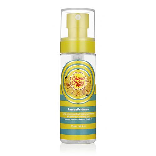 Мист для тела с ароматом лимона Chupa Chups Chupa Chups Fresh Body Mist Lemon Verbena автомобильные ароматизаторы chupa chups ароматизатор воздуха chp303
