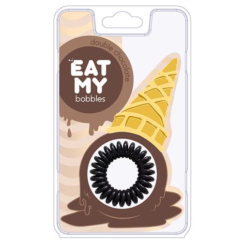 Резинка-пружинка для волос EAT MY bobbles EAT MY bobbles Double Chocolate