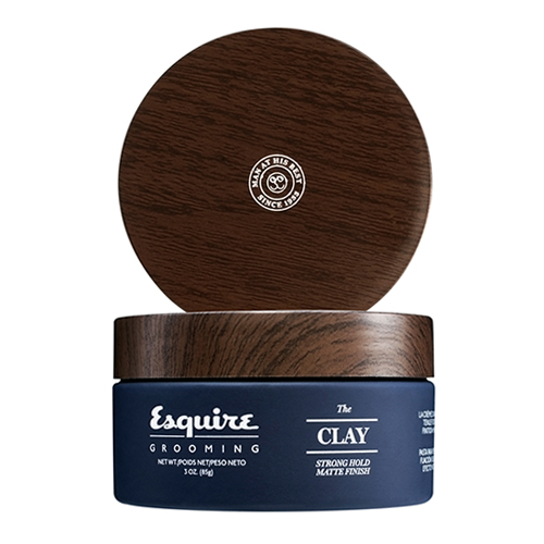 Глина для укладки волос сильной степени фиксации Esquire Grooming Esquire The Clay 50 clay composite striped dice 11 5 gram poker chips by brybelly