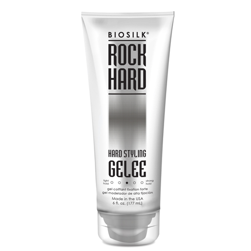 Гель моделирующий средней фиксации для волос BioSilk BioSilk Rock Hard Hard Styling Gelee Medium Hold 177 ml barrow black silver od14mm hard tube fitting g1 4 hard pipe tbdt c99 pro