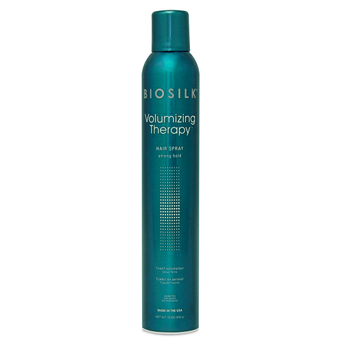 Спрей сильной фиксации для придания объёма волосам BioSilk BioSilk Volumizing Therapy Hair Spray Strong Hold 340 g fund organ magnet therapy household shoulder cervical vertebra kneading instrument massage pad waist generation hair
