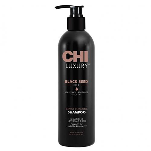 Увлажняющий шампунь с экстрактом семян чёрного тмина CHI Luxury Black Seed Oil Gentle Cleansing Shampoo 739 ml