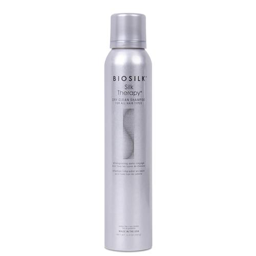 Сухой шампунь для волос  протеинами шёлка BioSilk   Therapy Dry Clean Shampoo 150 g