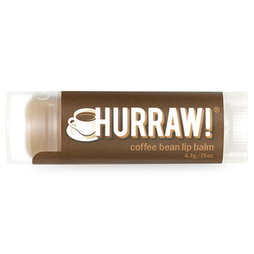 Натуральный бальзам для губ со вкусом кофе Hurraw! Hurraw! Coffee Bean Lip Balm xiaomi fang manuka bee lip balm 5 5g blueberry flavor blue