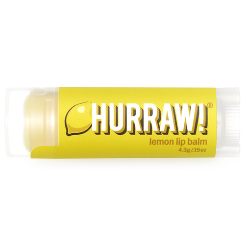Натуральный бальзам для губ со вкусом лимона Hurraw! Hurraw! Lemon Lip Balm xiaomi fang manuka bee lip balm 5 5g blueberry flavor blue