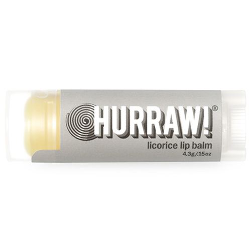 Натуральный бальзам для губ со вкусом лакрицы Hurraw! Hurraw! Licorice Lip Balm xiaomi fang manuka bee lip balm 5 5g blueberry flavor blue