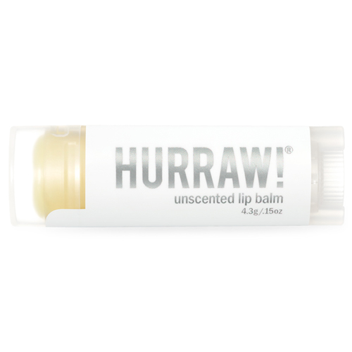 Натуральный бальзам для губ без вкуса Hurraw! Hurraw! Unscented Lip Balm xiaomi fang manuka bee lip balm 5 5g blueberry flavor blue