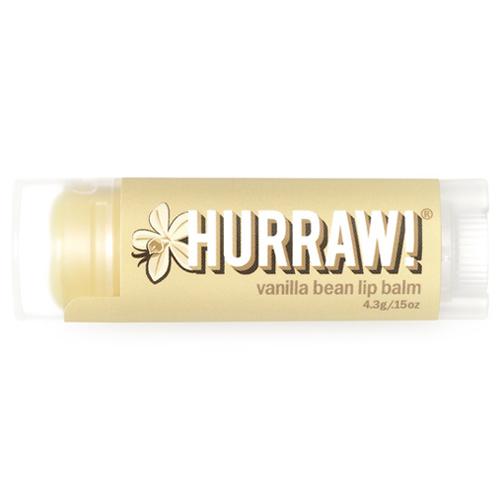 Натуральный бальзам для губ со вкусом ванили Hurraw! Hurraw! Vanilla Bean Lip Balm eos бальзам для губ стик ваниль vanilla bean 4гр