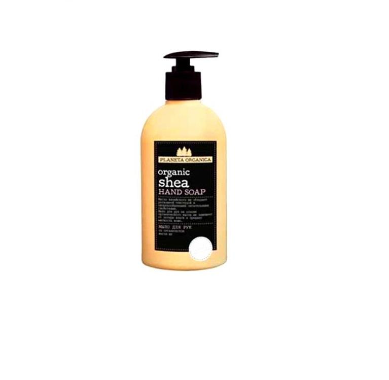 Мыло для рук на основе   масла ши Planeta Organica 5 Масел Мыло для рук Organic Shea