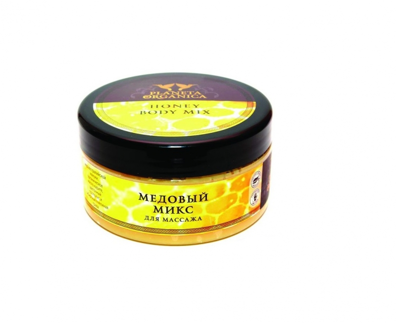 Масло массажное с медом Planeta Organica Planeta Organica масло для массажа Медовый микс