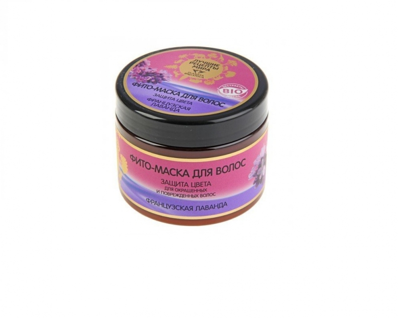 Маска-фито для волос Французская лаванда Planeta Organica Лучшие Рецепты Мира маска-фито для волос Французская лаванда