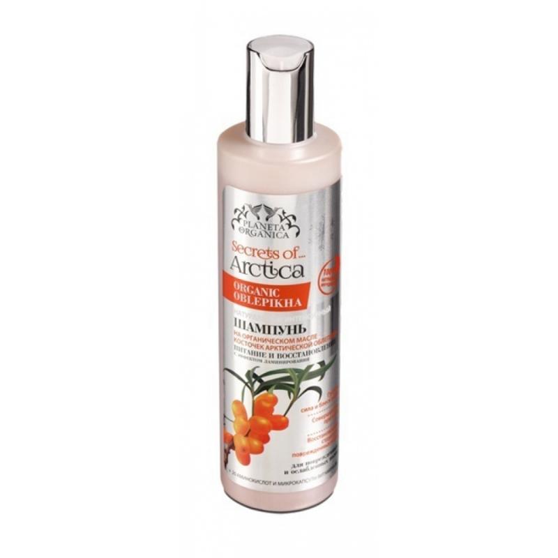 Благодаря использованию шампуня создается эффект биоламинирования. Planeta Organica