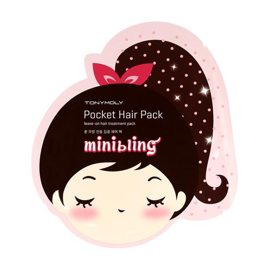 маска для волос Tony Moly Mini Bling Pocket Hair Pack маска tony moly make hd argan rose treatment hair steam pack 1 шт