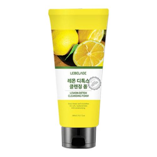 Детокс-пенка для умывания с лимоном Lebelage Lemon Detox Cleansing Foam
