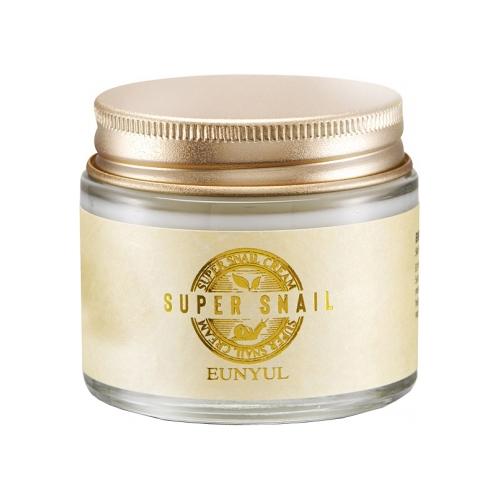 Крем для лица с муцином улитки Eunyul Super Snail Cream eunyul snail eye cream крем для век против морщин с муцином улитки 50 г