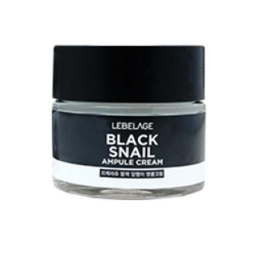 Крем для глаз с муцином черной улитки Lebelage Black Snail Eye Cream 70 ml eunyul snail eye cream крем для век против морщин с муцином улитки 50 г