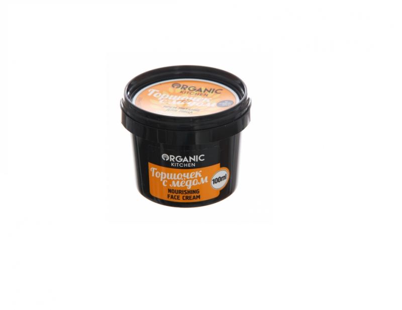 Питательный  крем для лица Organic Shop OS Крем-питание для лица Горшочек с медом