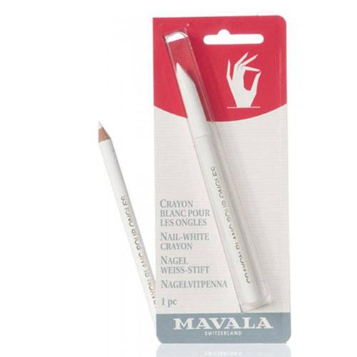 Белый карандаш для маникюра Mavala Mavala Nail White Crayon 48w white light uv lamp nail dryer fingernail