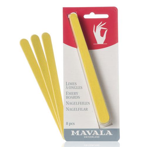 Пилочки для ногтей с грубой и мягкой абразивностью Mavala Mavala Emery Boards