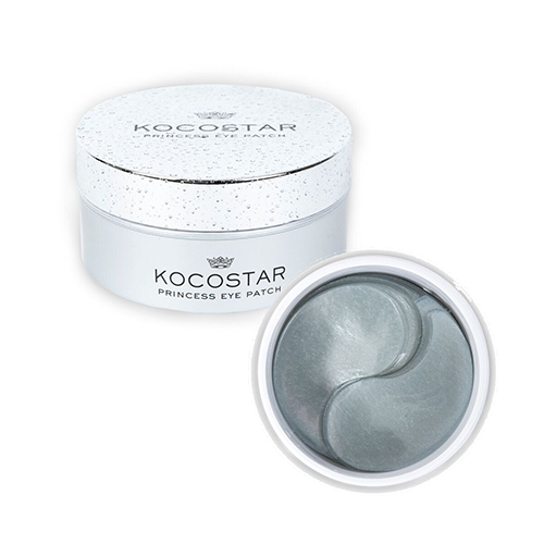 Гидрогелевые патчи для кожи вокруг глаз с коллоидным серебром Kocostar Princess Eye Patch Silver 50pairs lot emergency supplies ecg defibrillation electrode patch prompt aed defibrillator trainer accessories not for clinical