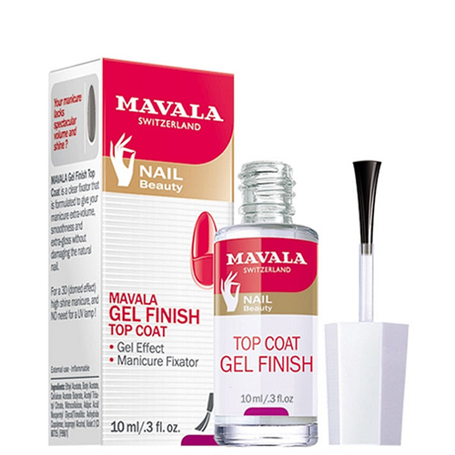 Mavala Mavala Top Coat Gel Finish 10 ml cnhids set 36w uv lamp 7 of resurrection nail tools and portable package five 10 ml soaked uv glue gel nail polish