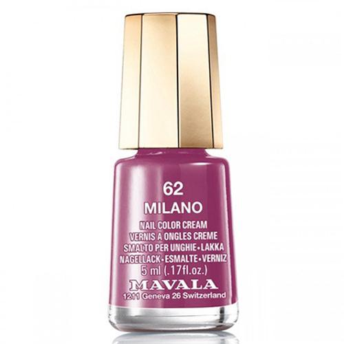Лак для ногтей лиловый Mavala Mavala Nail Color Cream 062 Milano