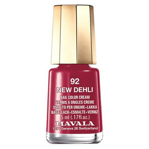 Лак для ногтей без вредных компонентов Mavala Mavala Nail Color Cream 092 New Delhi 24 nail polish oil set nail art nude color candy color multicolour