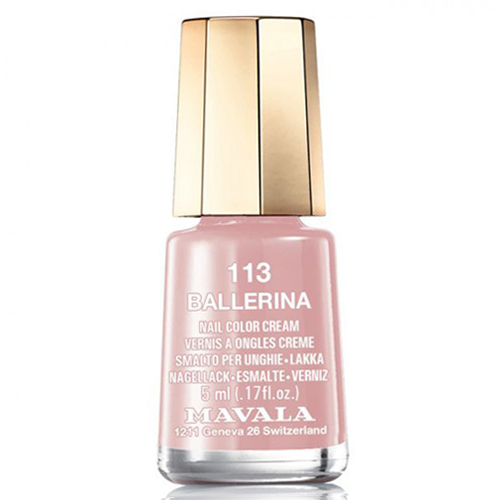 Лак для ногтей без вредных компонентов Mavala Mavala Nail Color Cream 113 Ballerina 24 nail polish oil set nail art nude color candy color multicolour