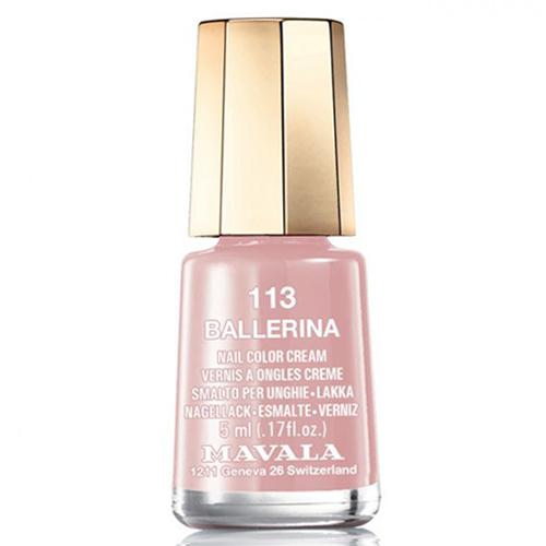 Лак для ногтей без вредных компонентов Mavala Mavala Nail Color Cream 113 Ballerina mavala лак для ногтей оттоман mavala mini color ottoman 9091257 5 мл