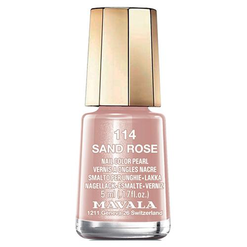 Лак для ногтей Розовый песок Mavala Mavala Nail Color Cream 114 Sand Rose mavala набор комплекс 3 mavala nail care 1 2 3 manicure a 11 072 1 шт