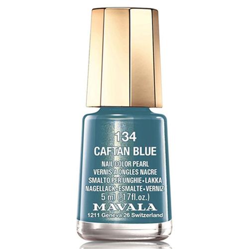 Лак для ногтей синий бархат Mavala Mavala Nail Color Cream 134 Caftan Blue mavala набор комплекс 3 mavala nail care 1 2 3 manicure a 11 072 1 шт
