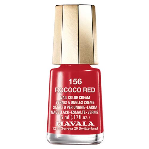 Лак для ногтей чувственный красный Mavala Mavala Nail Color Cream 156 Rococo Red mavala набор комплекс 3 mavala nail care 1 2 3 manicure a 11 072 1 шт