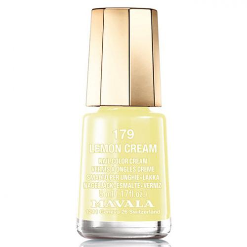 Лимонный лак для ногтей Mavala Mavala Nail Color Cream 179 Lemon Cream лак для ногтей mavala celebrating 50 years collection 185 цвет 185 moscow variant hex name e42d2f