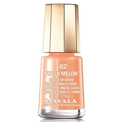 Лак для ногтей без вредных компонентов Mavala Mavala Nail Color Cream 182 Fresh Melon mavala лак для ногтей оттоман mavala mini color ottoman 9091257 5 мл