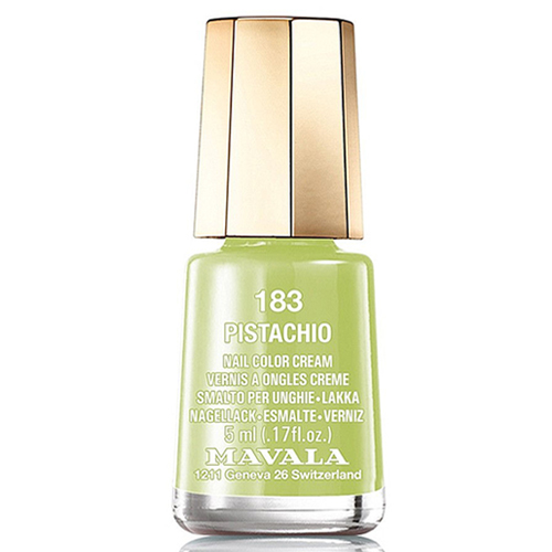 Фисташковый лак для ногтей Mavala Mavala Nail Color Cream 183 Pistachio mavala набор комплекс 3 mavala nail care 1 2 3 manicure a 11 072 1 шт