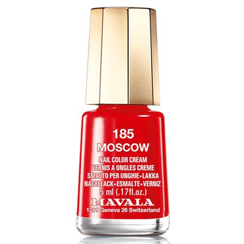 Красный лак для ногтей Mavala Mavala Nail Color Cream 185 Moscow лак для ногтей mavala celebrating 50 years collection 185 цвет 185 moscow variant hex name e42d2f