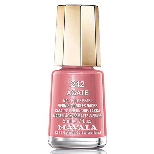 Лак для ногтей Mavala Mavala Nail Color Cream 242 Agate mavala набор комплекс 3 mavala nail care 1 2 3 manicure a 11 072 1 шт
