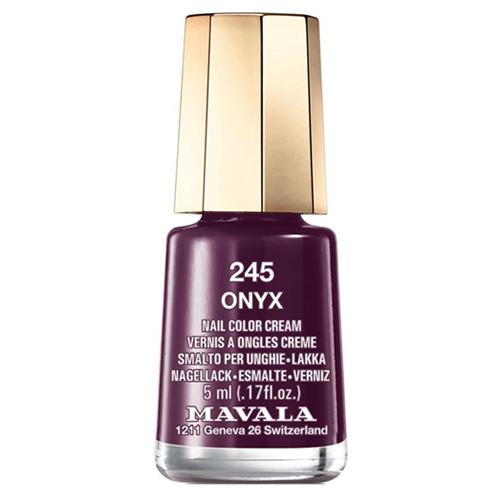 Лак для ногтей без вредных компонентов Mavala Mavala Nail Color Cream 245 Onyx mavala лак для ногтей оттоман mavala mini color ottoman 9091257 5 мл