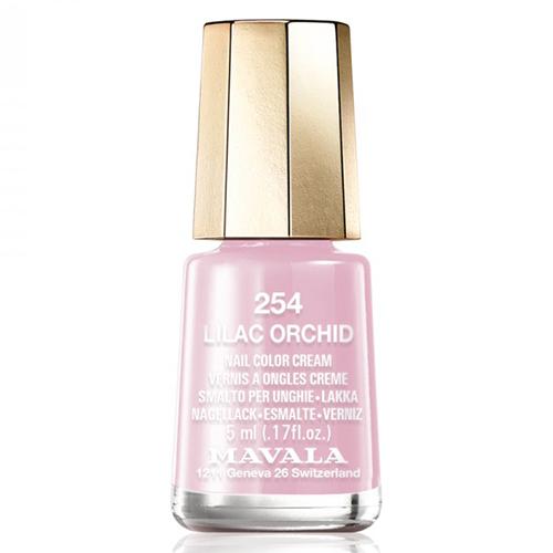 Лак для ногтей без вредных компонентов Mavala Mavala Nail Color Cream 254 Lilac Orchid mavala набор комплекс 3 mavala nail care 1 2 3 manicure a 11 072 1 шт